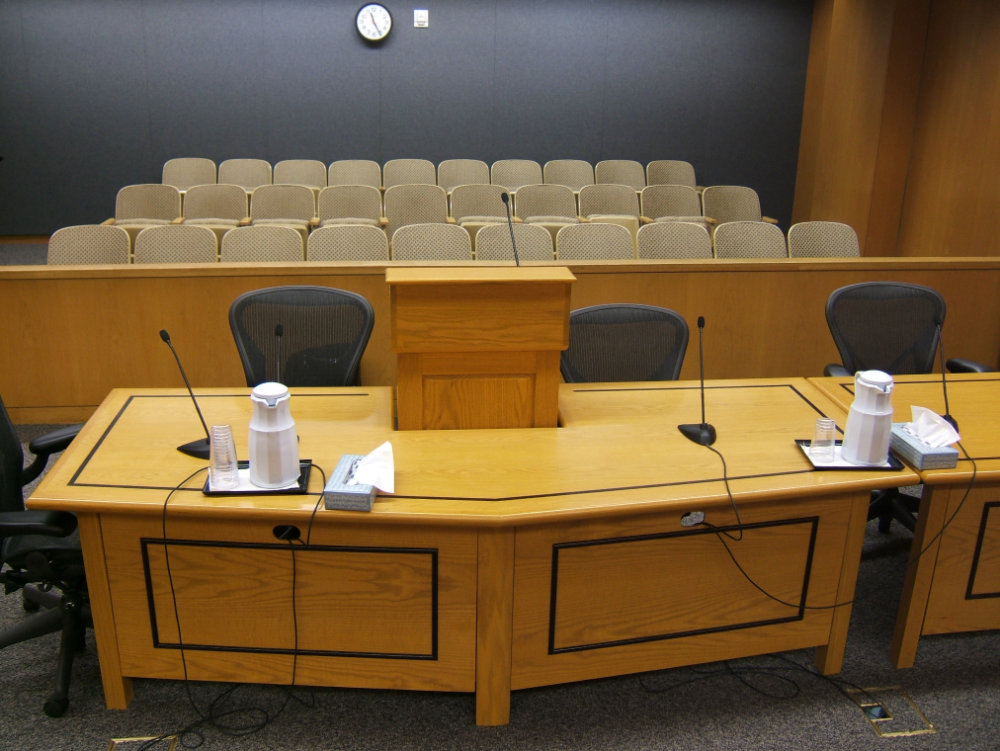 Courtroom Tables