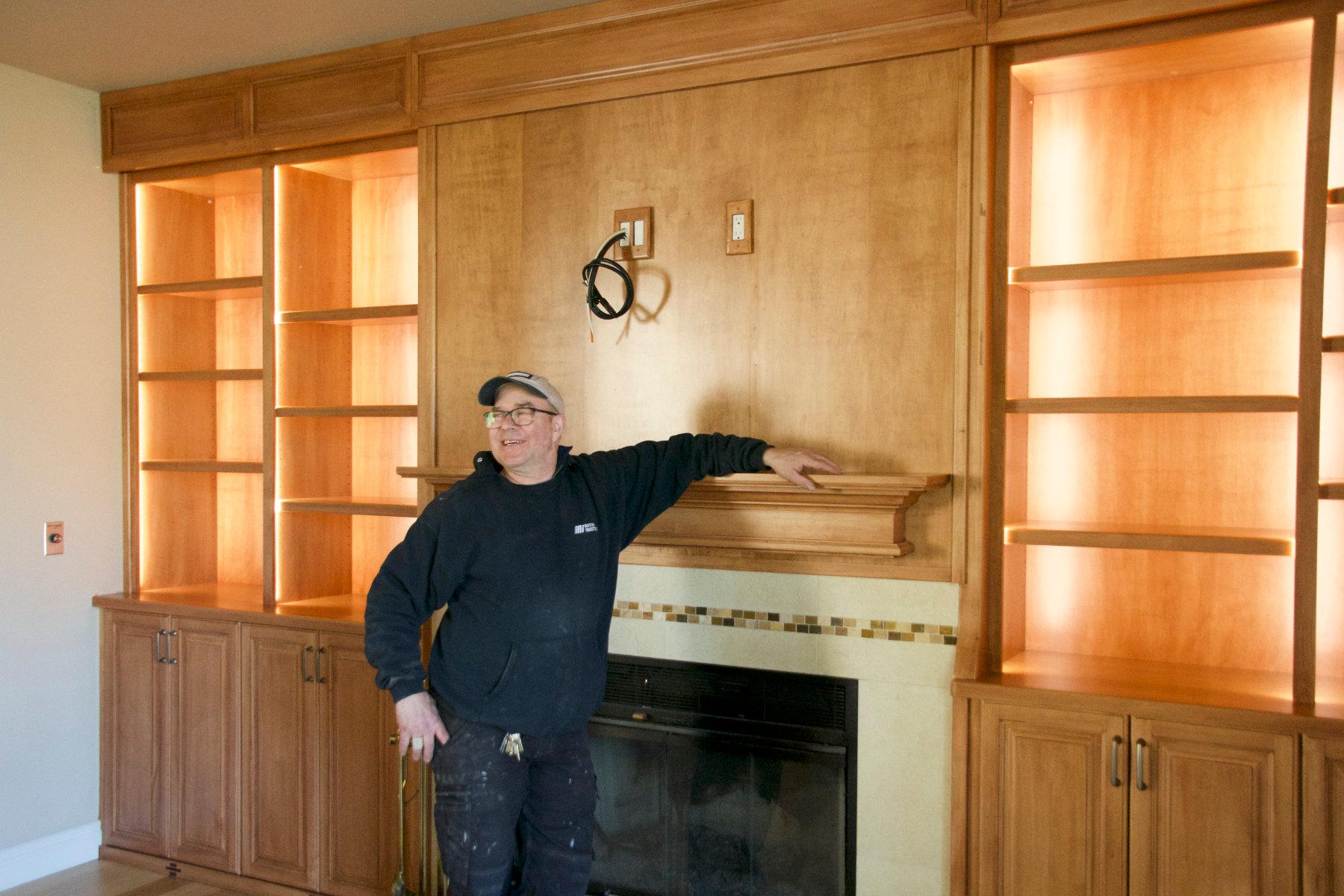 bill alaska woodcrafters custom home built-ins