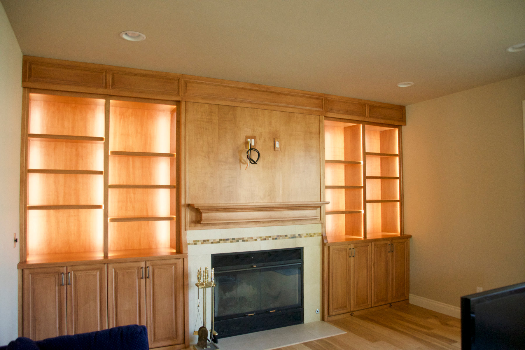 home custom built-ins anchorage